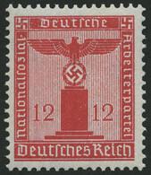 DIENSTMARKEN D 150 **, 1938, 12 Pf. Dunkelrosarot, Mit Wz., Pracht, Mi. 55.- - Officials