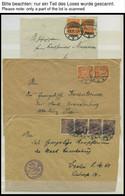 DIENSTMARKEN 1920-22, Sammlung Von 39 Verschiedenen Belegen, Fast Nur Prachterhaltung - Officials