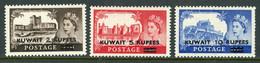"Kuwait MH 1955 GB Stamps Of 1955-56 Surcharged ""Kuwait"" - Kuwait"