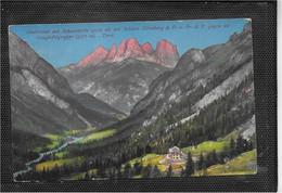 AK 0659  Contrintal Mit Schutzhütte Der Sektion Nürnberg Gegen Die Langkofelgruppe Um 1910-20 - Bolzano (Bozen)