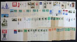 GANZSACHEN A. P40/02-P 109/03 BRIEF, 1950-1990, 150 Meist Verschiedene Ganzsachen, Ungebraucht Und Gebraucht, Dabei Eini - Sin Clasificación