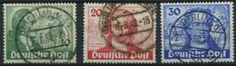 BERLIN 61-63 O, 1949, Goethe, Prachtsatz, Mi. 180.- - Used Stamps