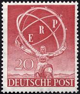 BERLIN 71 **, 1950, 20 Pf. ERP, Pracht, Mi. 100.- - Used Stamps