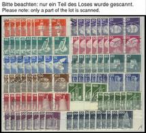 LOTS O, 1974-83, Saubere Dublettenpartie, Komplett, Je 6-10x, Feinst/Pracht, Mi. Ca. 2500.- - Used Stamps