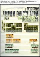 LOTS **, O, Dublettenpartie Berlin Von 1977-81, Sauber Im Einsteckbuch, Fast Nur Prachterhaltung, Mi. Ca. 1700.- - Used Stamps