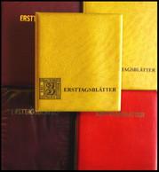 ERSTTAGSBLÄTTER 791-1443 BrfStk, 1974-89, Sammlung Kompletter Jahrgänge, ETB 1/74 - 33/89 In 5 Spezialalben, Pracht - FDC: Feuilles