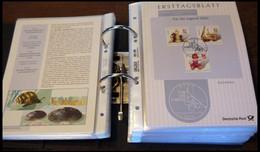 ERSTTAGSBLÄTTER 2156-2304 BrfStk, 2000-2002, 3 Komplette Jahrgänge, ETB 1/2000-49/2002, Pracht - FDC: Feuilles