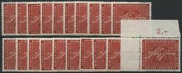 ENGROS 227 **, 1956, 20 Pf. Stephan, 20x, Meist Pracht, Mi. 160.- - Variedades