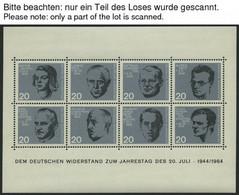 ENGROS Bl. 3 **, 1964, Block 20. Juli, 20x, Pracht, Mi. 160.- - Variedades