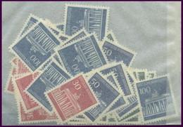 ENGROS 506-10 **, 1966, Brandenburger Tor, 10 üblich Gezähnte Prachtsätze, Mi. 150.- - Variétés