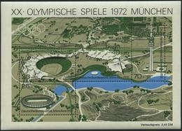 ENGROS Bl. 7 **, 1972, Block Olympische Spiele, 30x, Pracht, Mi. 195.- - Variedades