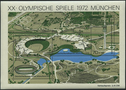 ENGROS Bl. 7 **, 1972, Block Olympische Spiele, 30x, Pracht, Mi. 195.- - Variétés