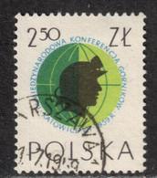 Poland 1959 Mi# 1107 Used - 3rd Miners' Conf., Katowice - Usados