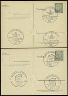 GANZSACHEN P 36 BRIEF, 1961, 8 Pf. Heuss Mit Postfachnummer Statt Postschließfachnummer, 5 Leer Gestempelte Karten Mit V - Sin Clasificación