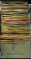 GANZSACHEN P 72,81 BRIEF, 1962/3, Reichhaltige Partie Bildpostkarten 10 Und 15 Pf. Bedeutende Deutsche, Mi.Nr. 5/26 - 33 - Sin Clasificación