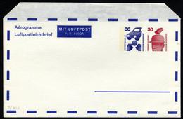 GANZSACHEN Aus PF 3a-30 BRIEF, 1972-78, 4 Verschiedene Gebrauchte Und Ein Ungebrauchter Privatfaltbrief, Pracht - Sin Clasificación