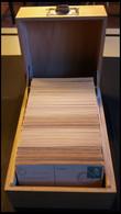 GANZSACHEN 1948-ca. 1965, Kleine Holzkiste Mit Ganzsachenkarten Bundesrepublik, Ungebraucht Und Gebraucht, Ca. 800 Karte - Sin Clasificación