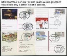 GANZSACHEN 1982-2002, 60 Verschiedene Ganzsachen, Meist Mit Sonderstempeln, Pracht - Sin Clasificación