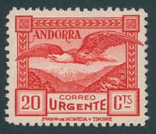 SPANISCHE-POST 27A *, 1929, 20 C. Seeadler, Pracht, Mi. 80.- - Sin Clasificación