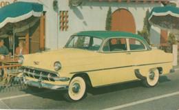 """1954 Chevrolet """"Two-Ten"""" Club Coupe Bermuda Green Over Fiesta Cream - Turismo"""