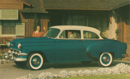 """1954 Chevrolet """"One-Fifty"""" Utility Sedan  India Ivory Over Biscayne Blue - Turismo"""