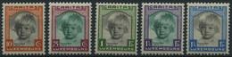 LUXEMBURG 240-44 *, 1931, Kinderhilfe, Falzrest, Prachtsatz - Officials