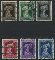 LUXEMBURG 296-301 O, 1936, Kinderhilfe, Prachtsatz, Mi. 70.- - Officials