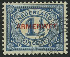 DIENSTMARKEN D 3 O, 1918, 11/2 C. Blau, Pracht, Mi. 170.- - Officials