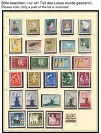 SAMMLUNGEN, LOTS **,o , Sammlung Niederlande Bis 1987, Die Ersten Jahre Kaum Vertreten, Ab 1968 Scheinbar Postfrisch Kom - Collections