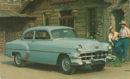 """1954 Chevrolet """"Two-Ten"""" 2-Door Sedan Horizon Blue - Turismo"""