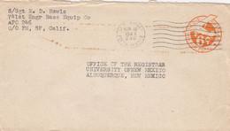 COVER. US ARMY POSTAL SERVICE. 10 1 46 . APO. 246. GUAM MARIANAS - Cartas