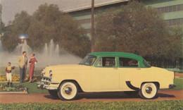 """1954 Chevrolet """"One-Fifty"""" 4-Door Sedan Bermuda Green Over Shoreline Beige - Turismo"""