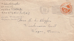 COVER. US ARMY POSTAL SERVICE. 28 6 45 . APO. 250. HILDEN GERMANY - Cartas