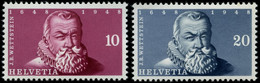 SCHWEIZ BUNDESPOST 512/3 **, 1948, Einzelmarken IMABA, Pracht, Mi. 70.- - Unused Stamps