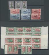 FRANZÖSISCH-INDIEN **, 1922-44, Kleine Partie Postfrischer Werte, Pracht - Ohne Zuordnung