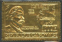 GABUN 233 **, 1965, 1000 Fr Albert Schweitzer, Postfrisch, Pracht - Non Classés