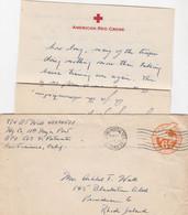 COVER. US ARMY POSTAL SERVICE. 26 1 46 . 7-BPO. AMERICAN RED CROSS YOKOHAMA JAPAN - Cartas