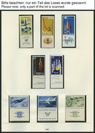 ISRAEL - SAMMLUNGEN, LOTS **, 1962-74, Komplette Teilsammlung Im SAFE Falzlosalbum, Pracht, Mi. 283.- - Collections, Lots & Séries