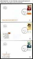 ISRAEL - SAMMLUNGEN, LOTS 1982-87, 6 Komplette Jahrgänge (ohne Kleinbogen) Auf FDC`s, Pracht, Markenwert: Mi. 346.- - Collections, Lots & Séries