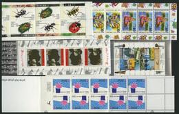 ISRAEL - SAMMLUNGEN, LOTS MH **, 1989-94, 5 Verschiedene Markenheftchen, Pracht, Mi. 134.- - Collections, Lots & Séries