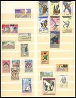 KONGO-BRAZZAVILLE **, 1960-68, Postfrische Sammlung, Ziemlich Komplett, Dabei U.a. Mi.Nr. 87 Und 116-22, Einige Wenige W - Sin Clasificación