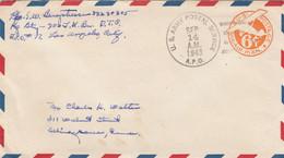 COVER. US ARMY POSTAL SERVICE. 14 9 43. APO - Cartas