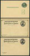 GANZSACHEN 1891-93, 5 Komplette Ungebrauchte Frage- Und Antwort Ganzsachenkarten (Paid Reply Postal Cards), Feinst/Prach - Sin Clasificación