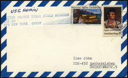 FELDPOST 1977, Feldpostkarte Der US-Navy Mit Stempel Der Sinai-Field-Mission, Pracht - Cartas