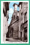 CPA (12) MUR-DE-BARREZ / L'Entrée De L'Eglise  (Voir Photo Et Détail) - Autres Communes