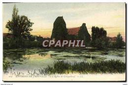 CPA Environs De Trouville L Eglise Cricqueboeuf - Non Classificati