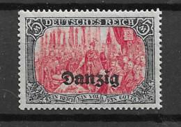 1920 MNH Danzig Mi 15 Postfris** - Danzig