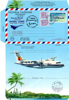 Concorde 1999 - Vol Calédonie Australia - Tontouta Cairns - Aérogramme Repiqué - Marlin Espadon Dakota Air France - Cartas