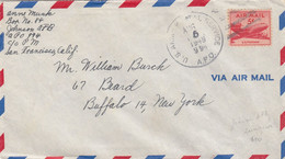 COVER. US ARMY POSTAL SERVICE. 16 8 48. APO 994. IRUMIGAWA - Cartas