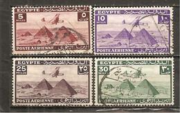 Egipto - Egypt. Nº Yvert  Aéreo-25-28 (usado) (o) - Aéreo